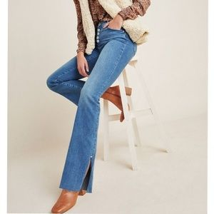 Anthropologie High Rise Skinny Bootcut Jeans